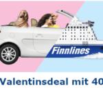 Finnlines Valentinsdeal - 40% Rabatt zum Valentinstag