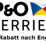 P&O Ferries 15% Frühbucherrabatt 2021