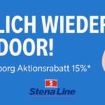 Stena Line 15% Rabatt zum Start der Outdoor-Saison in Schweden