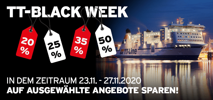 TT-Line Black Friday - TT-Black Week Angebote 2020