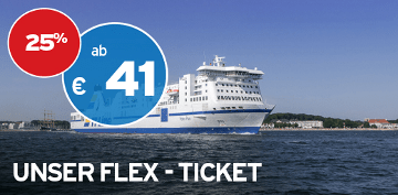 TT-Line Black Week Flex Ticket mit 25% Rabatt