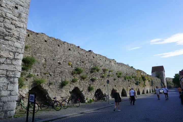 Teil der Stadtmauer von Visby